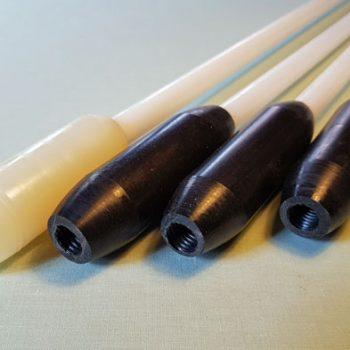 Flexi chimney rods for US made Brush